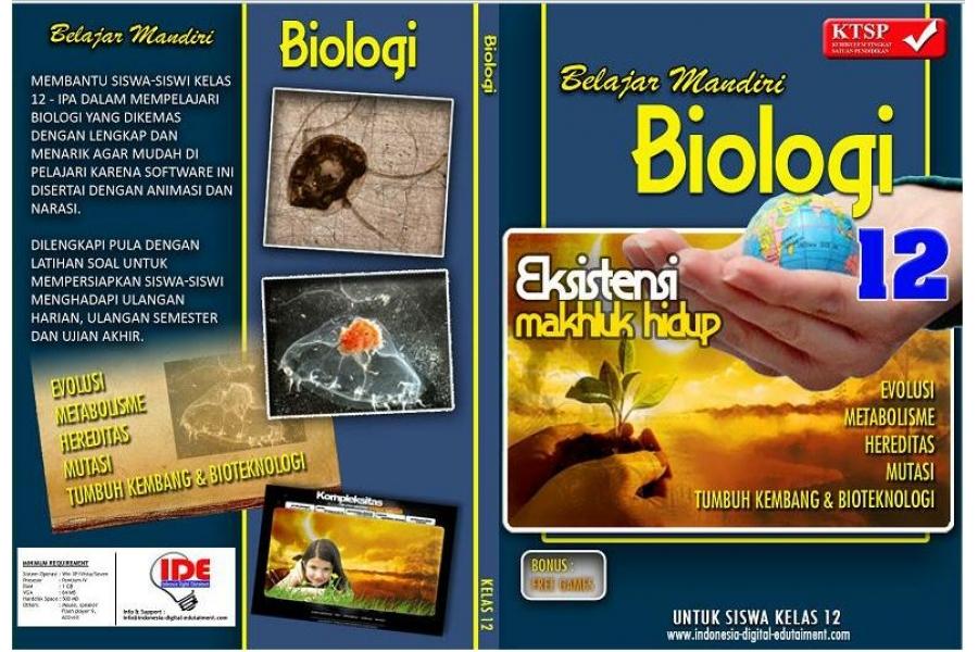 Cd pelajaran biologi kelas 12 sma