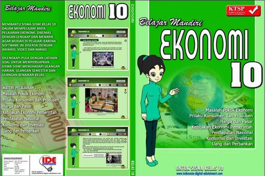 CD Pelajaran Ekonomi kelas 10 SMA