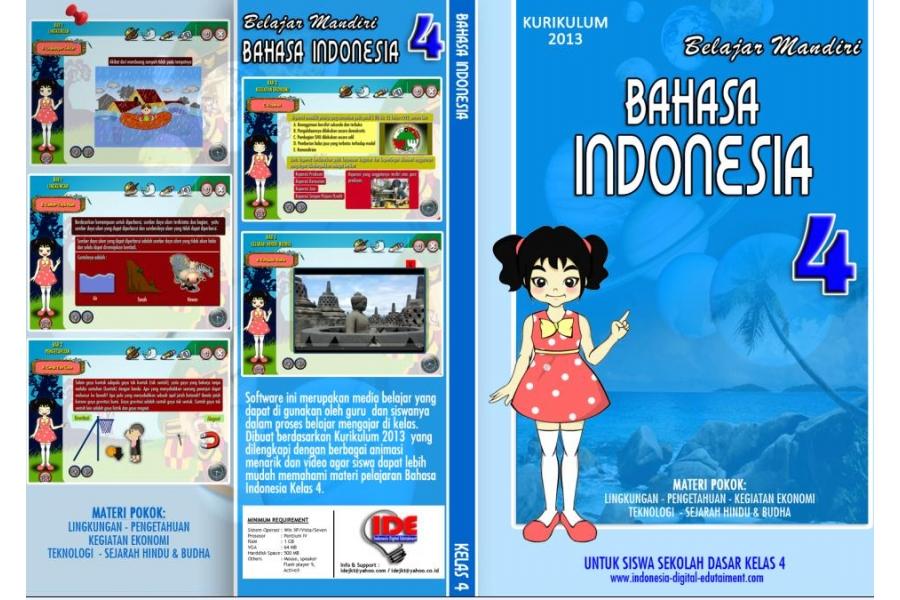 CD Pelajaran BAHASA INDONESIA kelas 4 SD