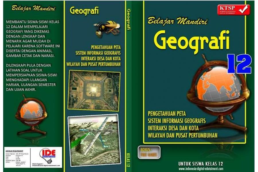 Cd Pelajaran Geografi Kelas 12 Sma