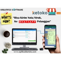 APLIKASI WEB BASE KETOKO Edisi UNLIMITED 12 bulan